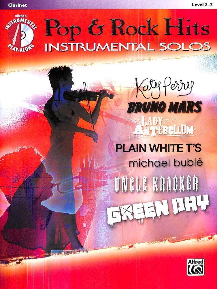 Noten Pop & Rock hits instrumental solos incl. CD ALF 37418