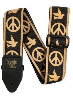 Ernie Ball EB4613 Gitarrengurt Jaquard Peace Love Dove