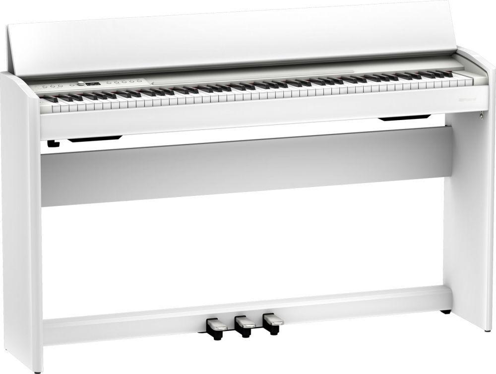 Roland F-701WH Digitalpiano weiß matt, F-140 Nachfolgemodell