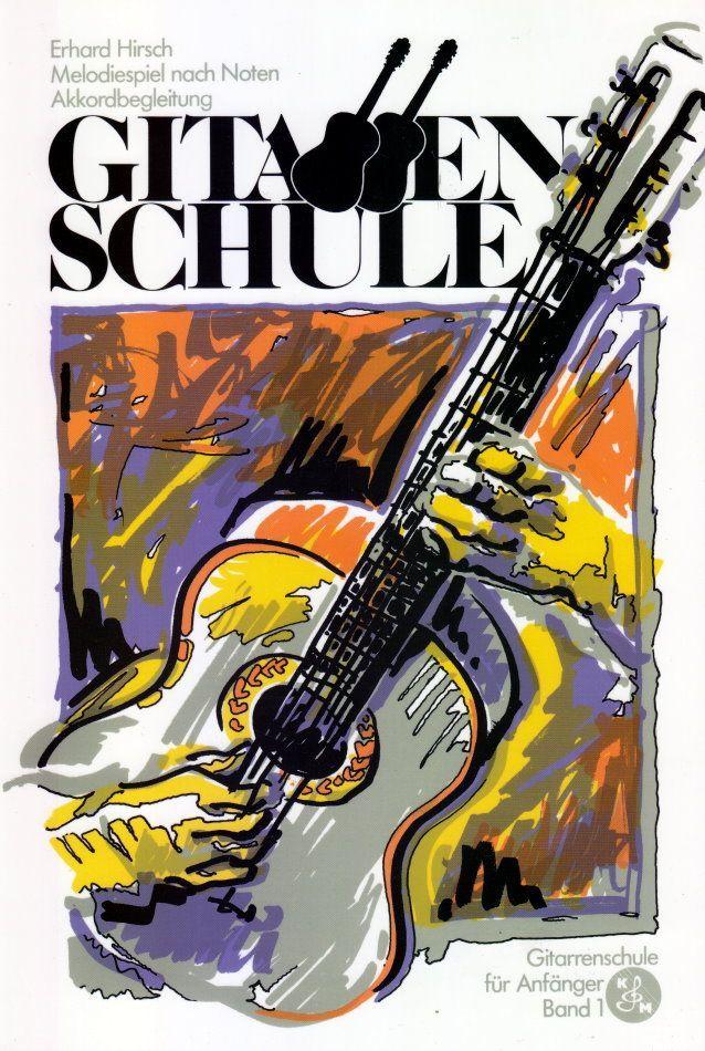 Noten Gitarrenschule Erhard Hirsch Band 1 Burger und Müller BM 1001