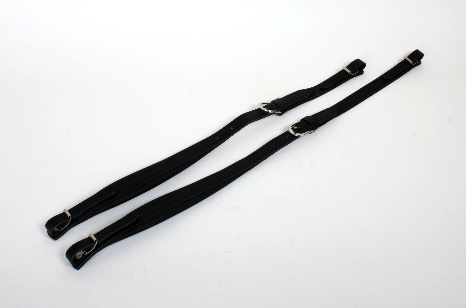 Weltmeister Trageriemen 48-Bass Akkordeon, Leder, 45 mm breit