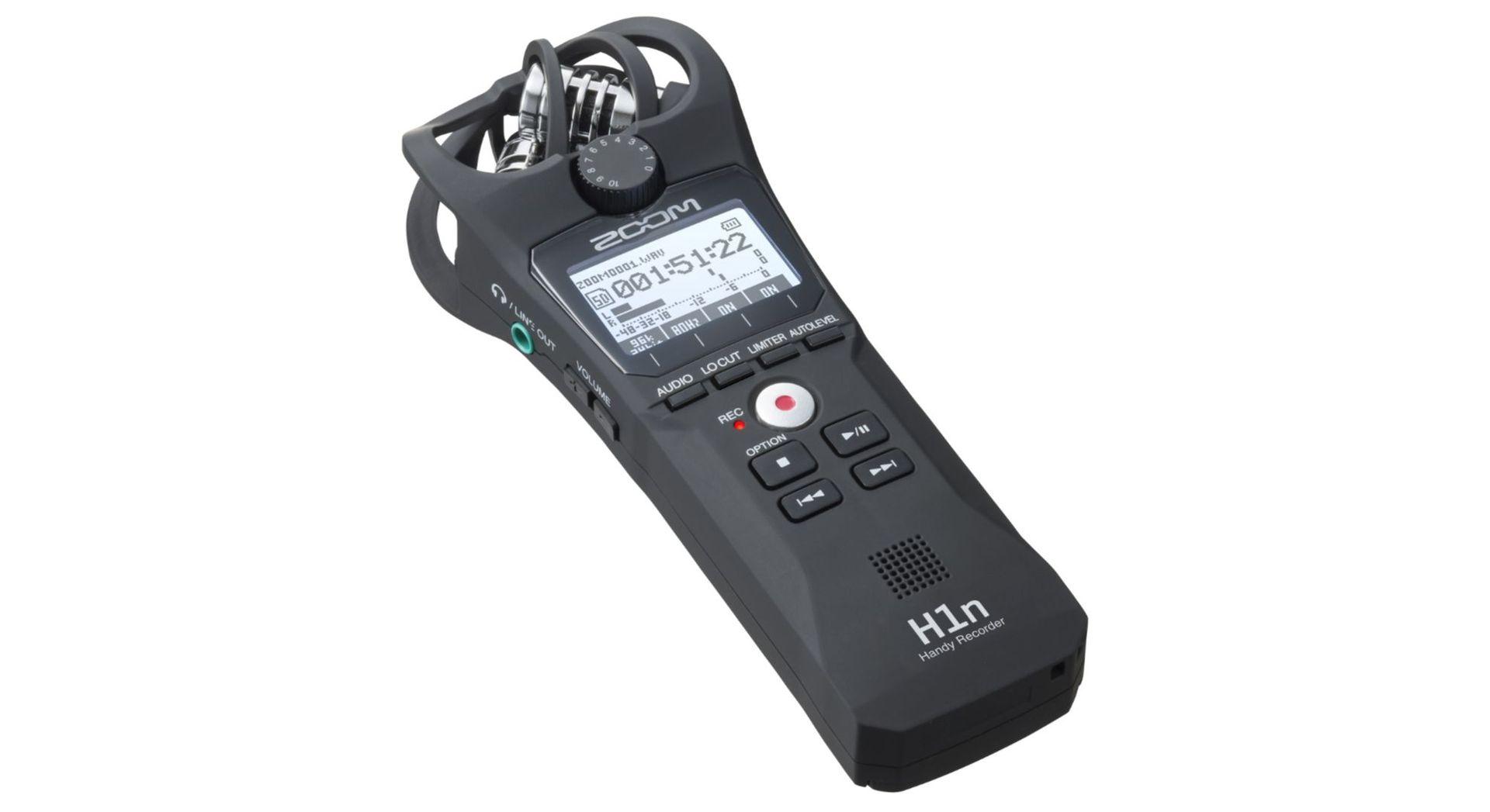 Zoom H1n tragbarer MP3/Wave Recorder Handyrecorder