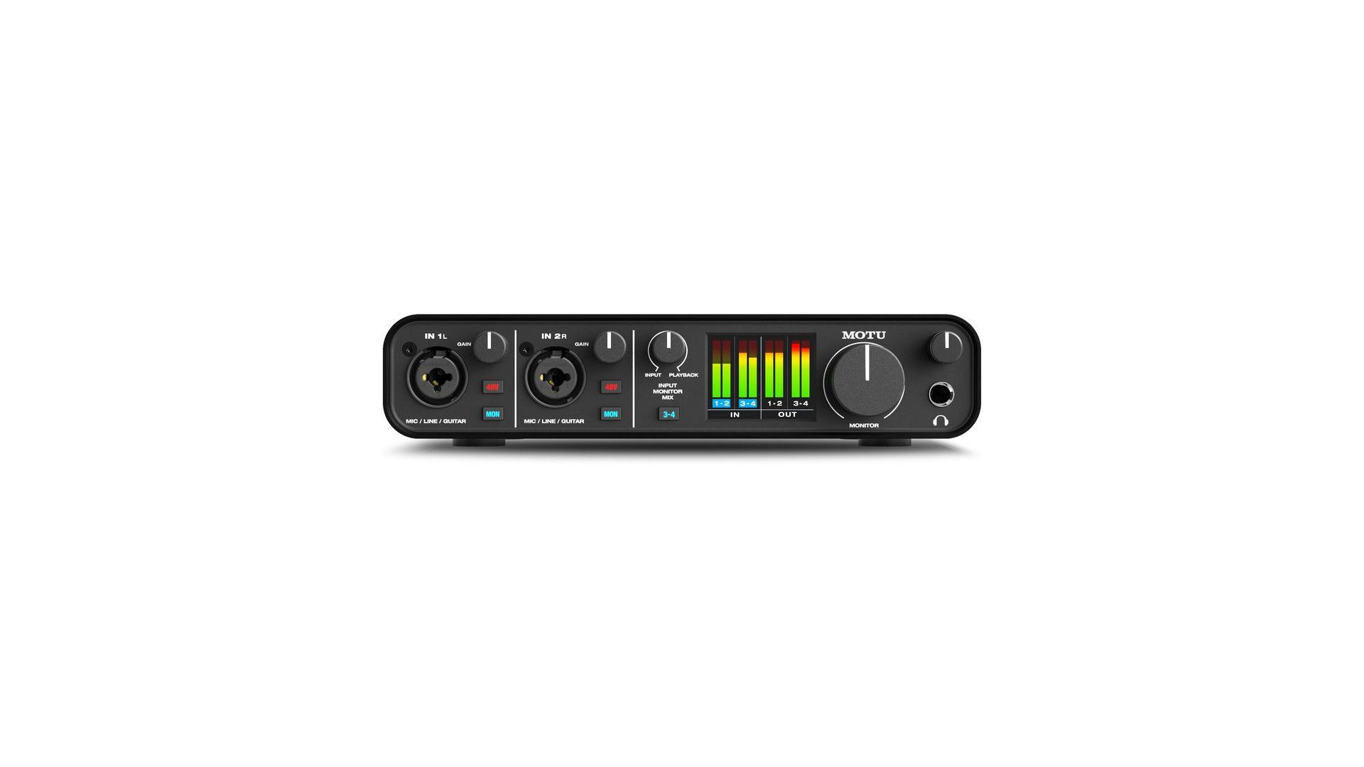 MOTU M4 4-Kanal USB-C Audiointerface