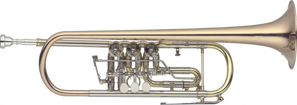 SWING TK202 B-Konzerttrompete GM Goldmessing lackiert, Bohrung