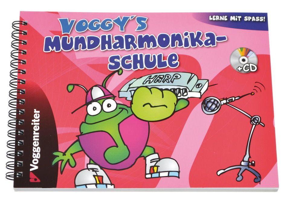 Noten Voggys Mundharmonikaschule incl. CD Voggenreiter 457-2