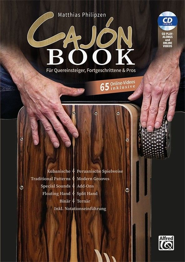 Noten Matthias Philipzen Cajon Book Buch CD online Videos Alfred 20296G