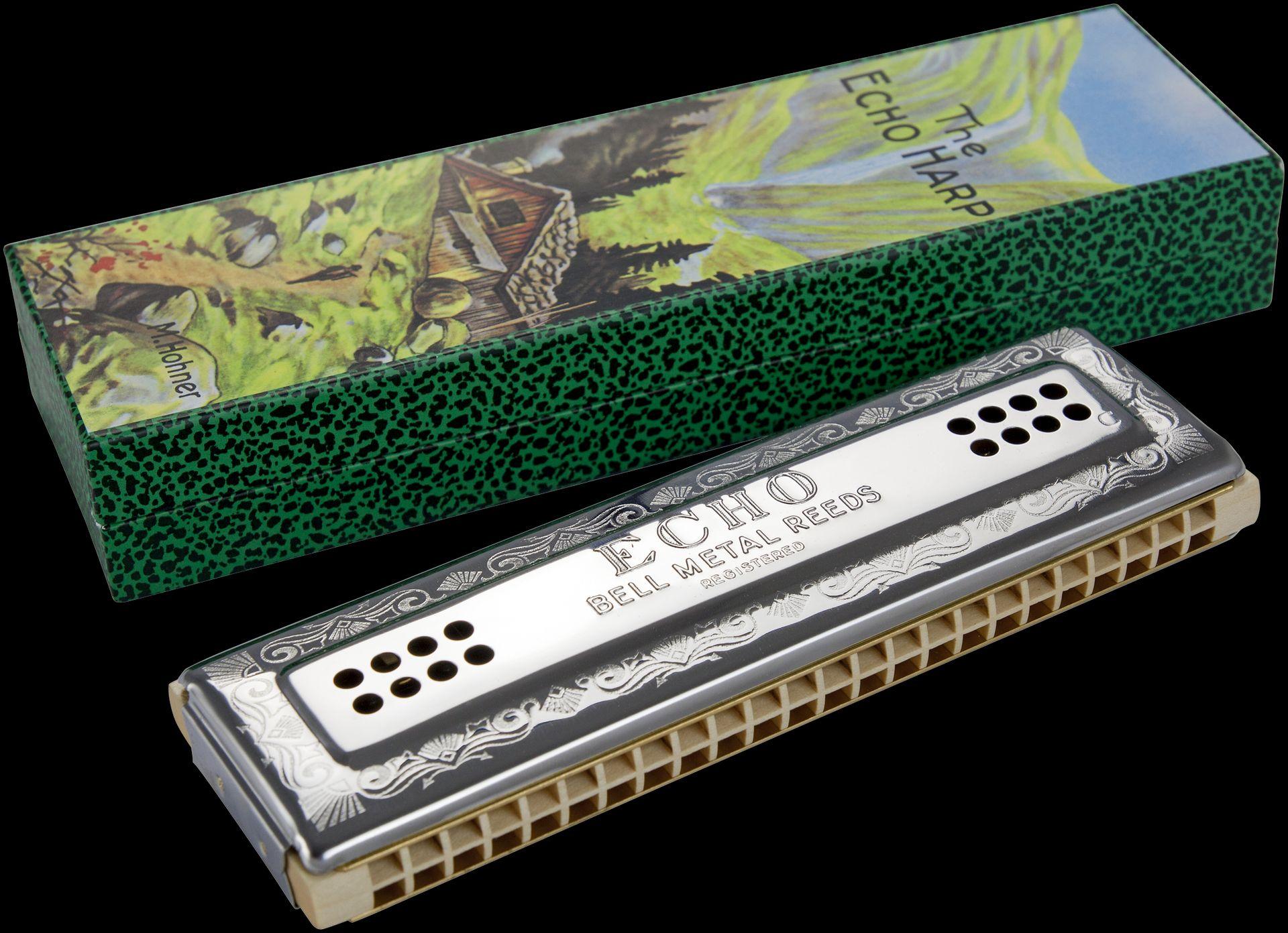 Hohner ECHO HARP CG /96 Mundharmonika HOM569633