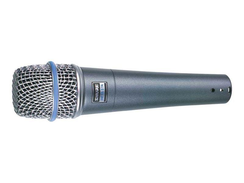 Shure Beta 57A Instrumenten-Mikrofon für akustische Instrumente, Superniere