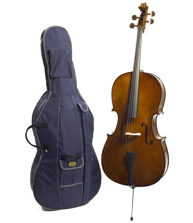 Stentor Cello 4/4 1102A2 Student I Decke + Zarge massiv Fichte