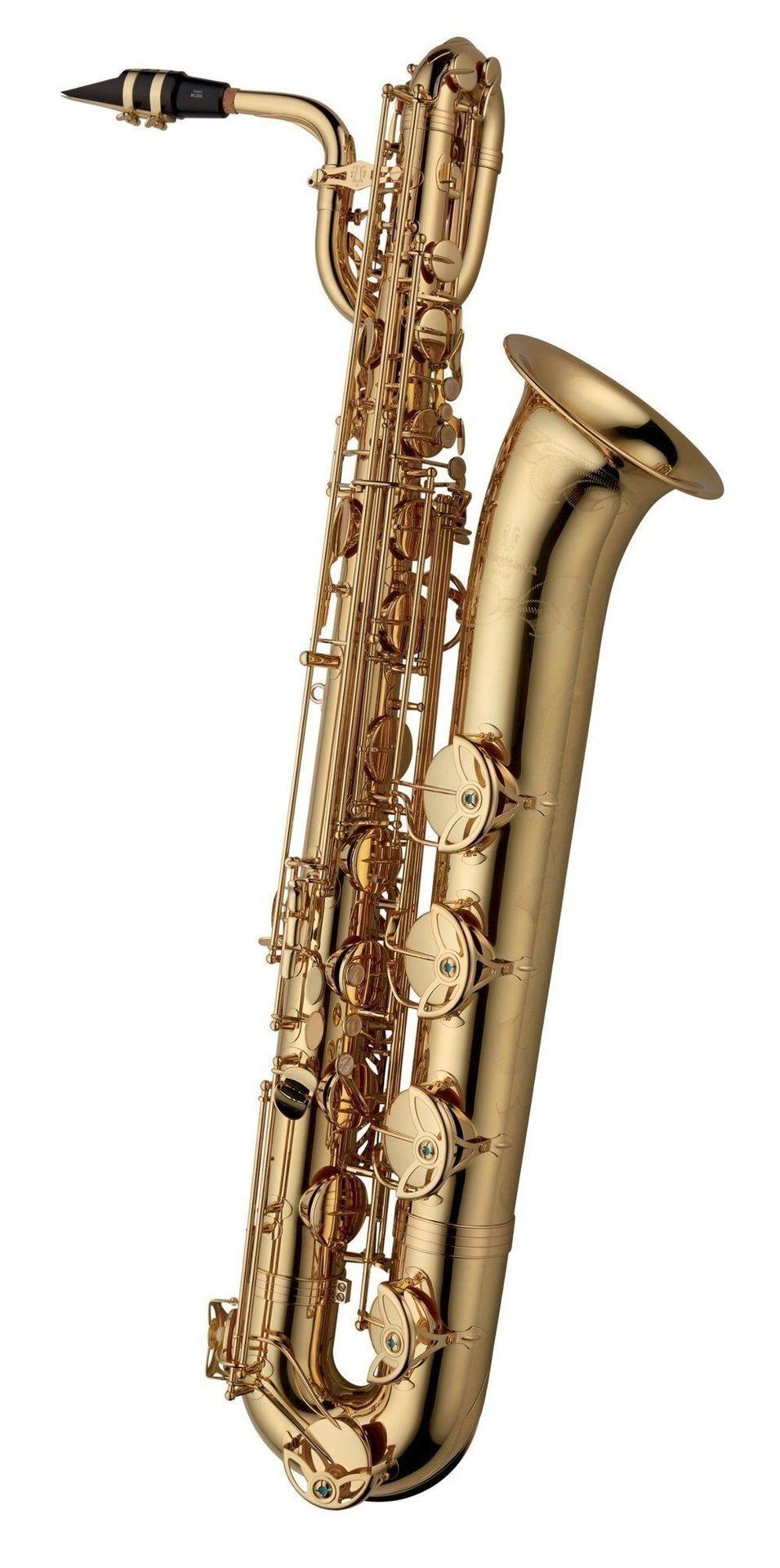 Yanagisawa B-WO1 Baritonsaxophon, tief A, hoch Fis, incl. Koffer u. Zubehör