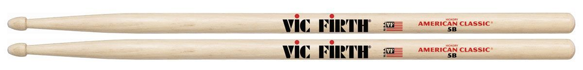 Vic Firth 5B Drumsticks Hickory