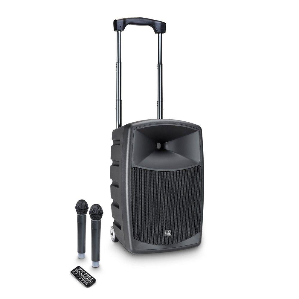LD Systems Roadbuddy 10 HHD 2 Akkubetriebene Bluetooth-Lautsprecherbox