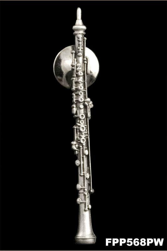 Anstecker Oboe Loreè FP-Schmuck #568 Musikergeschenke Musikerschmuck