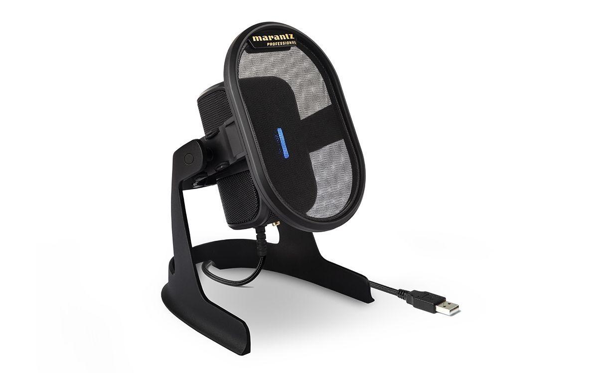 Marantz Umpire Desktop-USB-Kondensatormikrofon für Podcaster, Musiker und Gamer