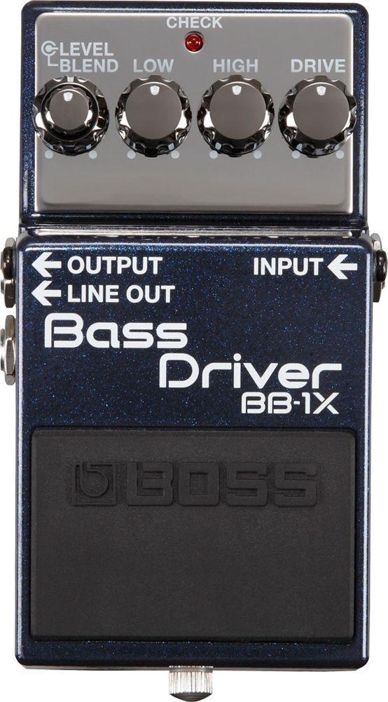 Boss BB-1X Bass Overdrive Effektgerät für E-Bass