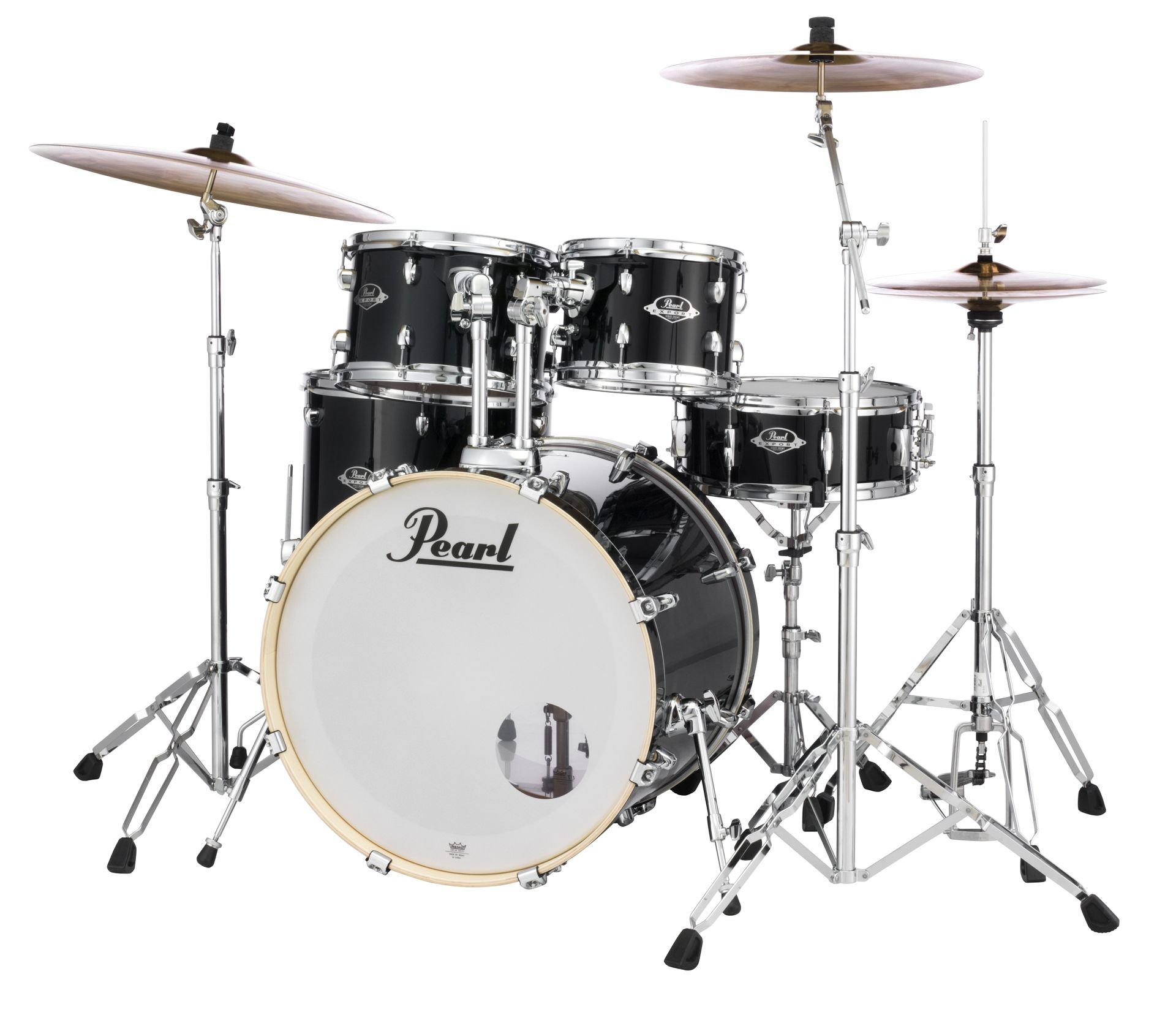 Pearl Export EXX705NBR/C31 Drumset jet black 20/10/12/14/ Snare