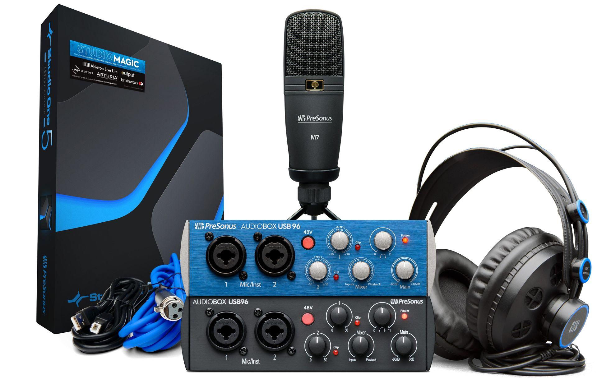 Presonus AudioBox 96 Studio 25th Anniversary Edition Studio SET