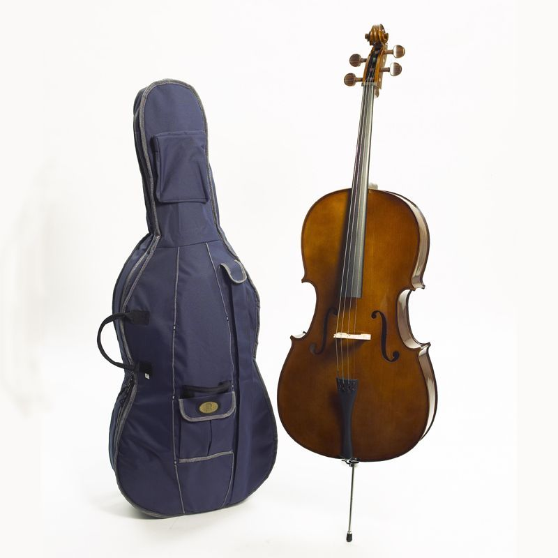 Stentor Cello 1/2 1102E2 Student I , Hartholzgriffbrett, Hartholzwirbel