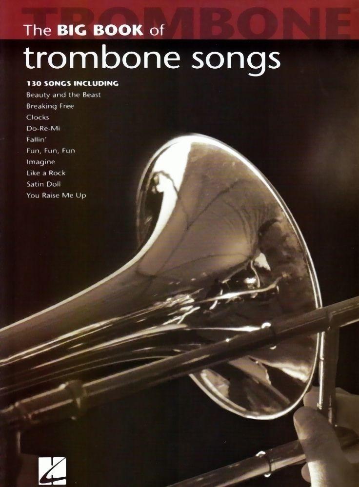 Noten The big book of trombone Posaune songs Hal Leonard HL 842213