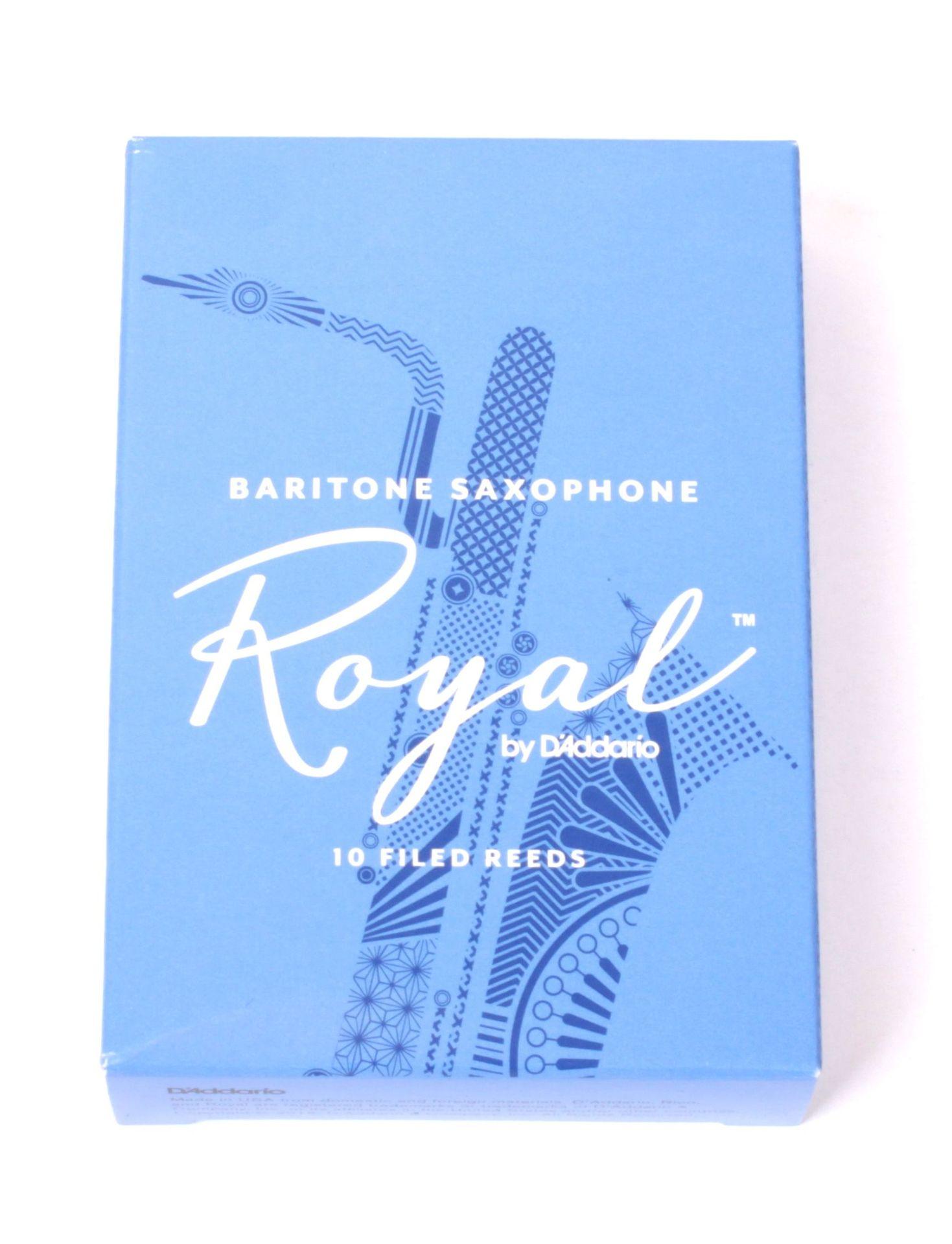 Daddario WoodWinds Rico Royal Blatt Baritonsaxophon 1,5