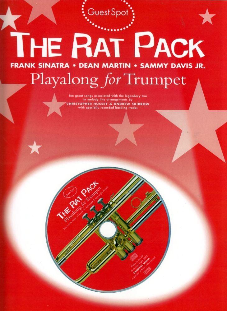 Noten The rat pack Trompete incl. playback CD Guest Spot MSAM 983422