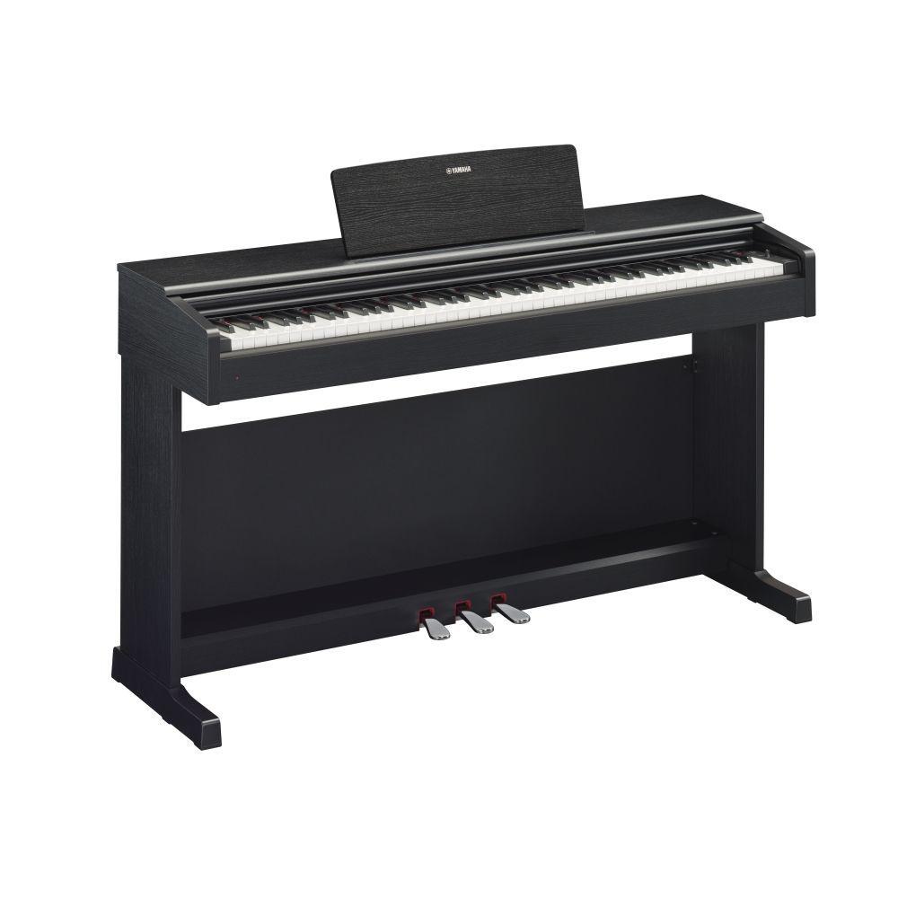 Yamaha ARIUS YDP-144B Digitalpiano schwarz matt, 10 Klangfarben, 2 x 6 Watt