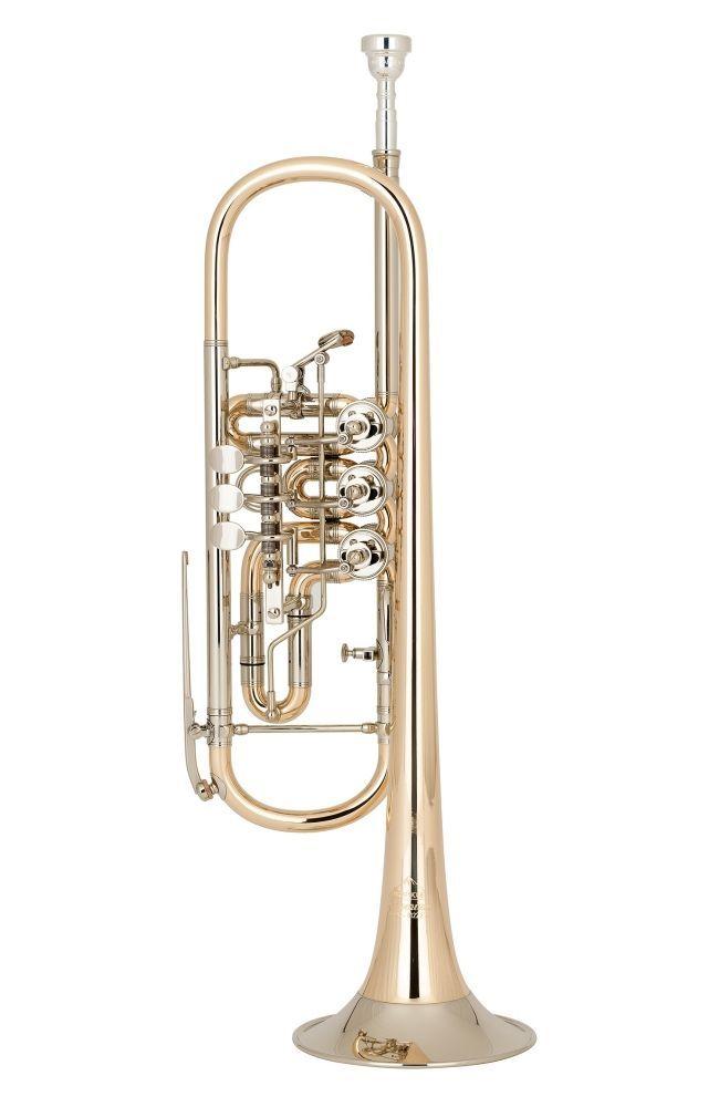 Miraphone 9-R B-Konzert-Trompete  9R 1100 A100 ! incl. original Koffer !