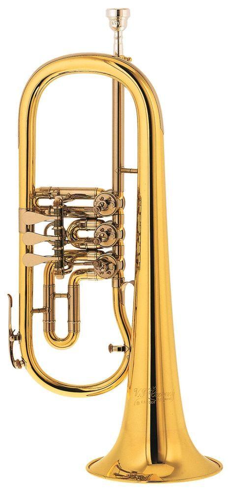 Cerveny CVFH 501 Konzert-Flügelhorn- Bohrung 11,10mm,Etui u.Zubehör, CVFH 501