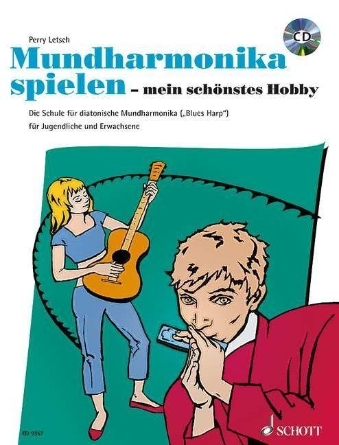 Noten MUNDHARMONIKA SPIELEN - MEIN SCHÖNSTES HOBBY incl. CD Schott