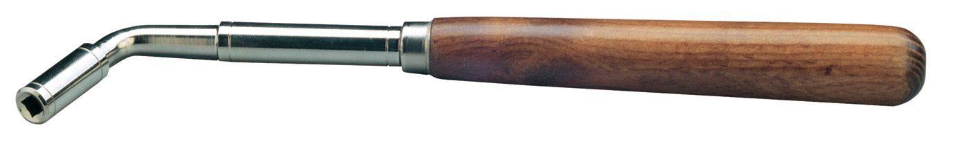 K&M 166/1 Klavierstimmhammer 16610 Stimmschlüssel 6,2 mm Quadrat Einsatz