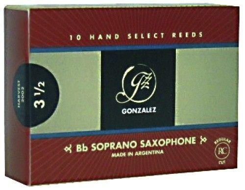 Gonzalez Blatt Sopran-Saxophon 3,0 RC  mittelschwer,