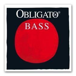 Pirastro Obligato 441020 Kontrabass Saiten Satz, Kunststoffkern
