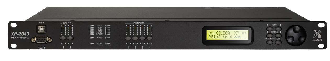 Xilica XP-2040 Frequenzweiche, Crossover