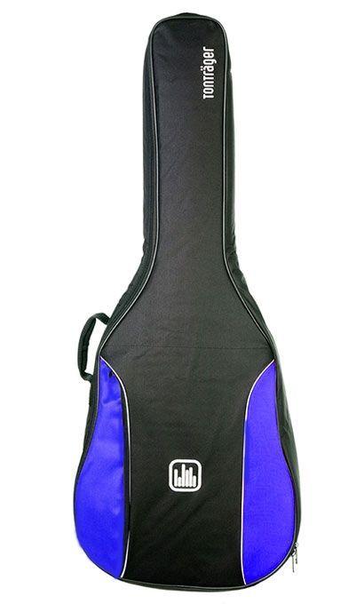Tonträger TG10 UB/BB Gigbag für Baritonukulele  oder 1/4 Konzertgitarre, blau,