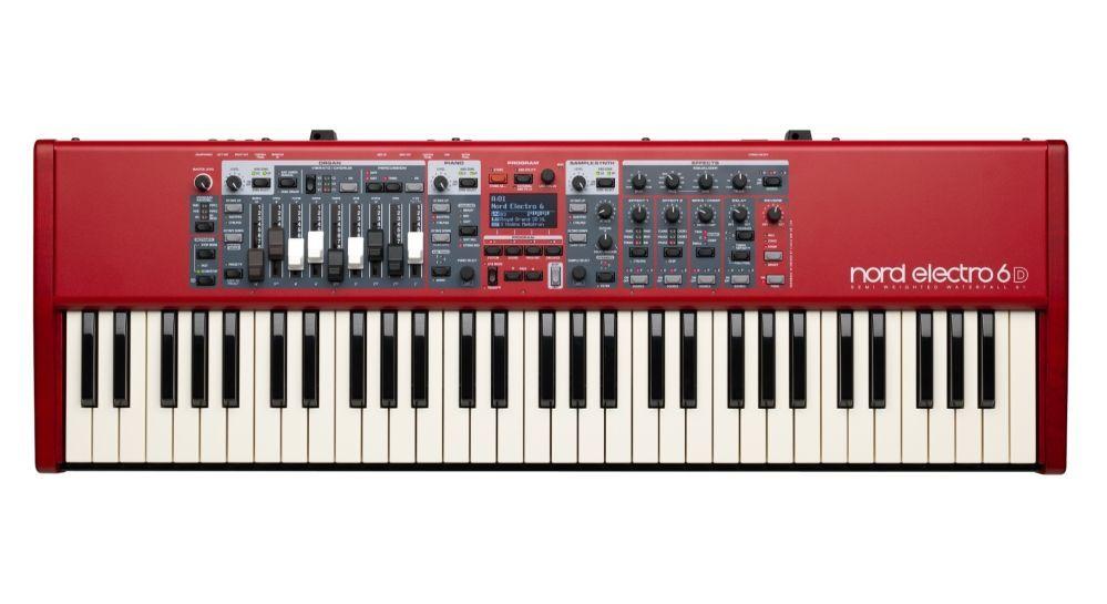 Clavia Nord Electro 6D 61 Synthesizer mit 61 anschlagdynamischen Tasten
