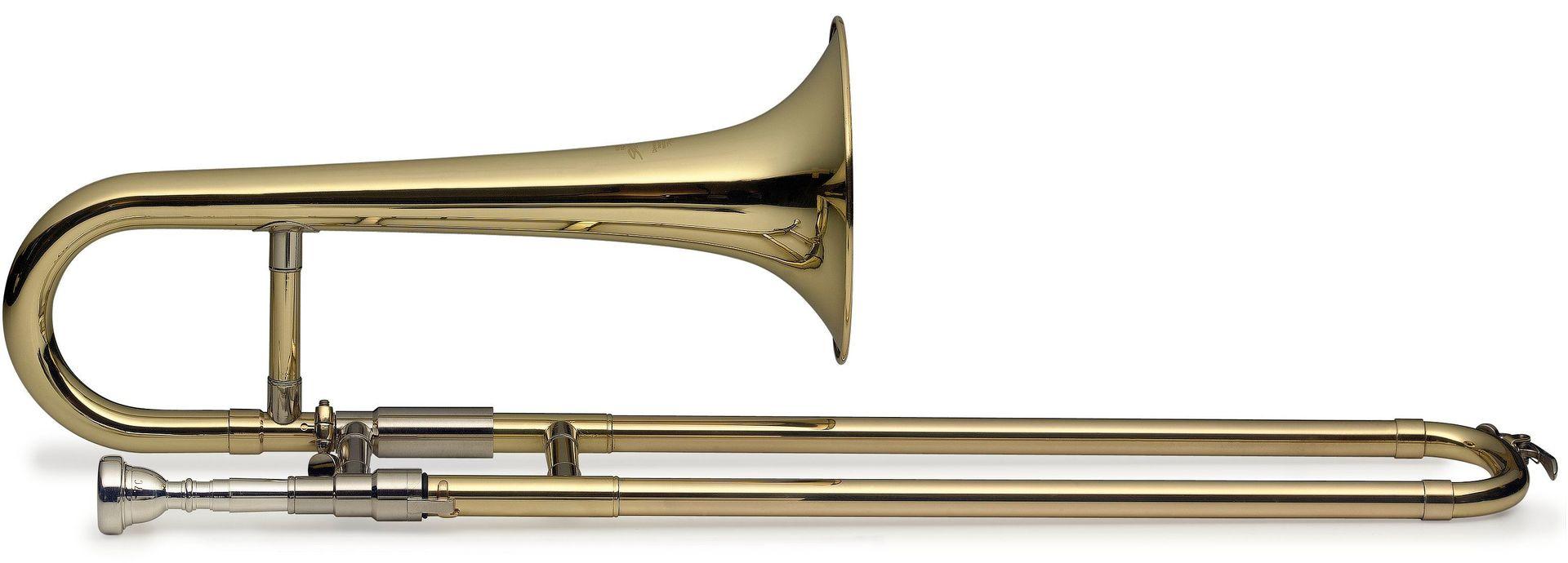 SWING TR-SL-201 B-Zugtrompete / Sopranposaune lackiert, Bohrung 11,50mm