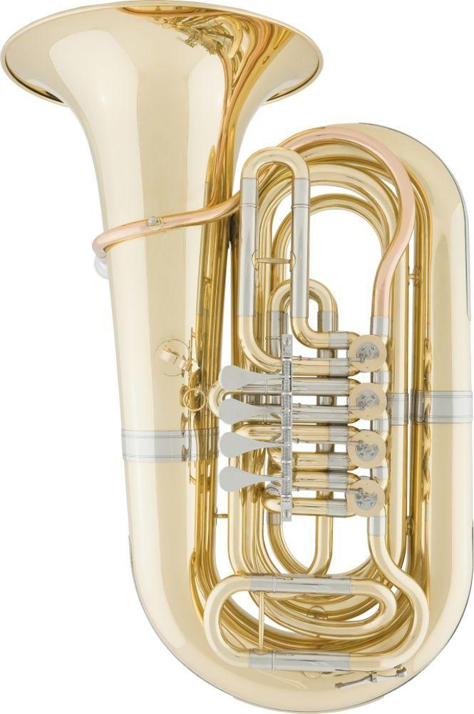 Arnolds  & Sons Tuba ABB-220 , Bb-Tuba 4 Ventile, 20,00 mm Bohrung, 80 cm Länge