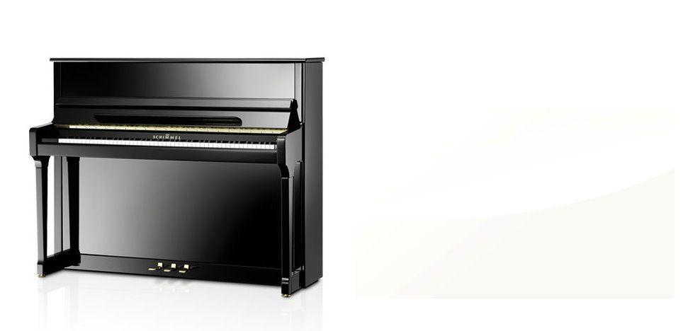 Schimmel C-121 Tradition Klavier weiß poliert