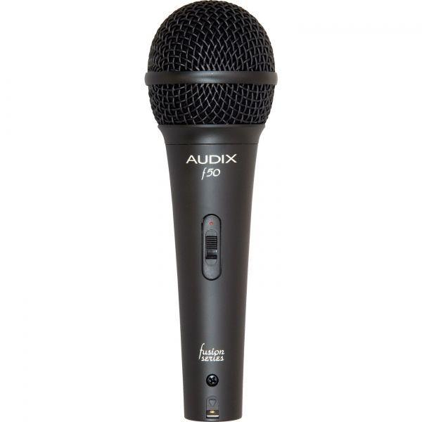 Audix F50S Sprach- und Gesangsmikrofon mit Schalter dynamisch, Niere