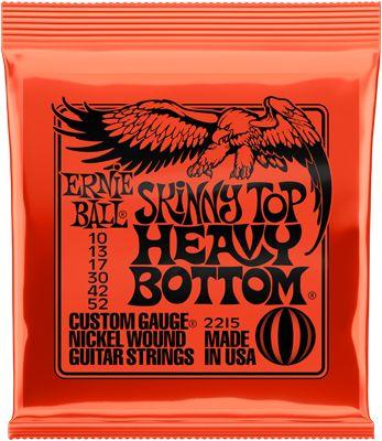 Ernie Ball EB 2215 E-Gitarren Saiten Skinny Top Heavy Bottom .010-.052
