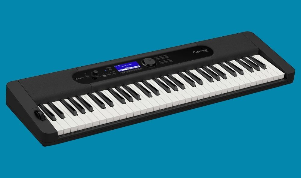 Casio CT-S400BK schwarz Keyboard incl.Netzadapter, USB,