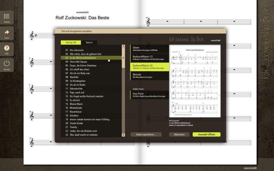 Rolf Zuckowski -Das Beste- dt.Liederschatz für FINALE