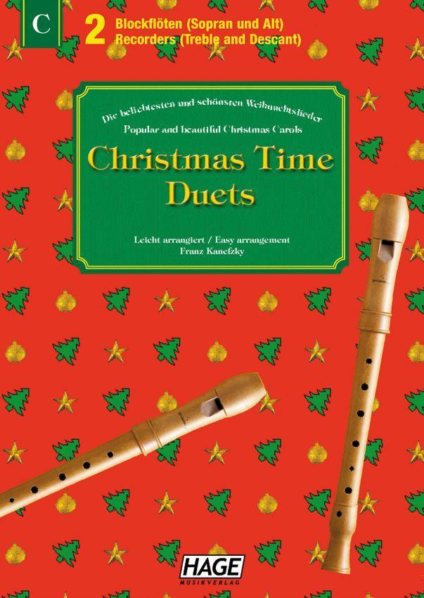 Noten Christmas Time Duets EH 1090 Blockflöten Duette Christmas