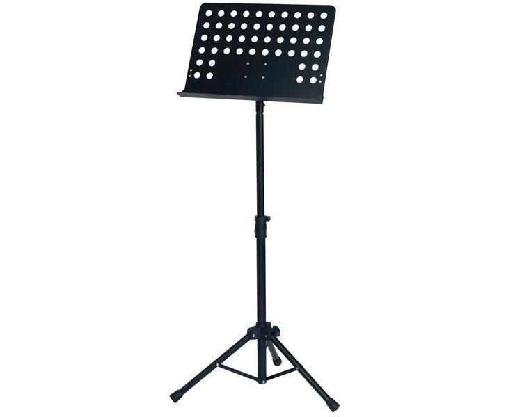 GEWA OrchesterPult MLO! Prismenverbindung ! Lochblech/Music Stand 125cm