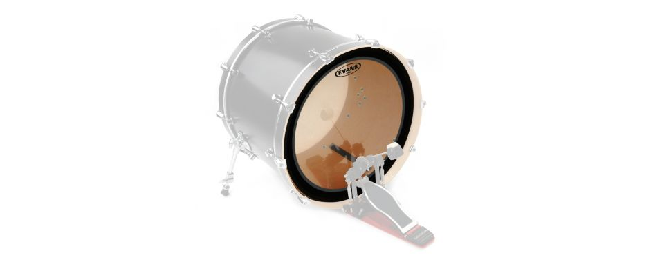 "Evans 22"" EMAD2 Clear Bass Drum Head doppellagig BD22EMAD2"