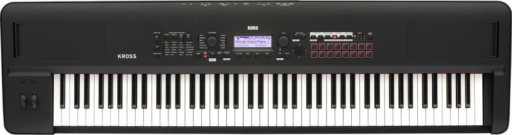 Korg KROSS 2-88MB Music Workstation mit 88 Tasten Hammermechanik, Vocoder, Seq