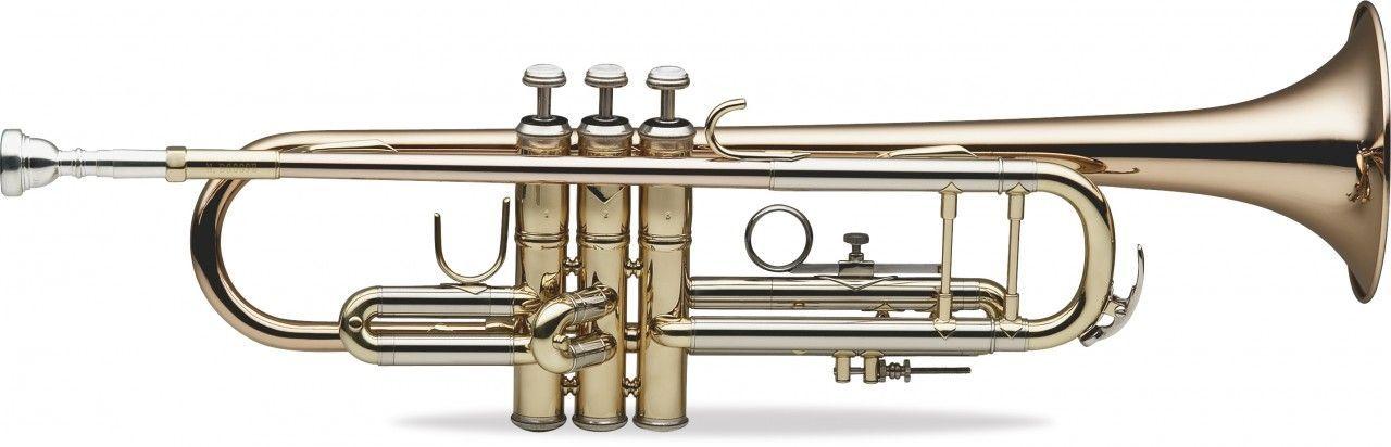 SWING TR-202-GM B-Trompete Goldmessing lackiert,Bohrung 11,66mm, Etui u. Zubehör