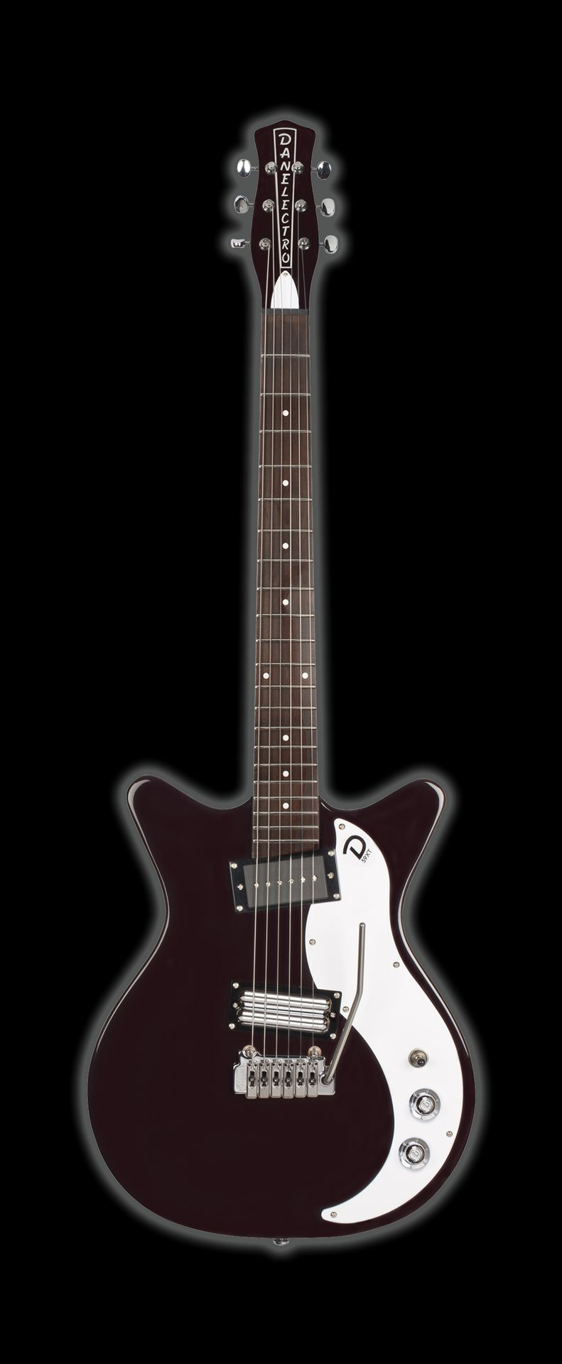 Danelectro DE 59XT BK E-Gitarre