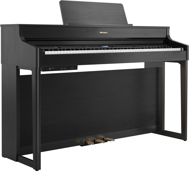 Roland HP-702 CH Digitalpiano schwarz matt,  PHA4-Hammermechanik