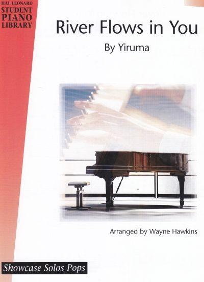 Noten River Flows in you Yiruma Wayne Hawkins leicht - mittelschwer HL 296896